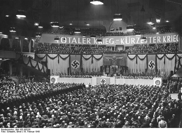 Goebbels's Speech at the <I>Sportpalast</i> in Berlin (February 18, 1943)