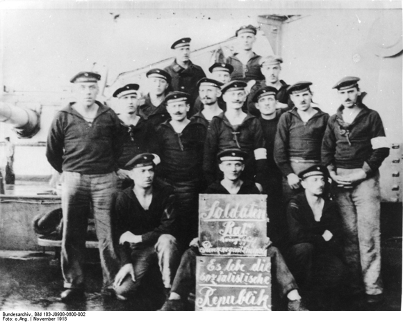 Sailors' Council on Board the Battleship <i>Prince Regent Luitpold</i> (November 1918)