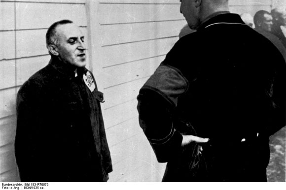 Carl von Ossietzky as Prisoner in a Concentration Camp (c. 1934)