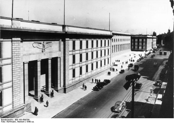 The New Reich Chancellery, Designed by Albert Speer (c. 1940)