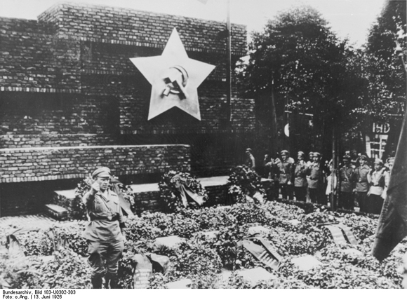 Ernst Thälmann Speaks at the Dedication of the Memorial to the Participants in the November Revolution (June 13, 1926)