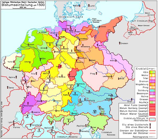 Heiliges Römisches Reich Karte.Ghdi List Of Maps