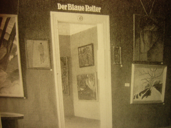 The Blue Rider (<i>Der Blaue Reiter</i>), Exhibition (1911-12)