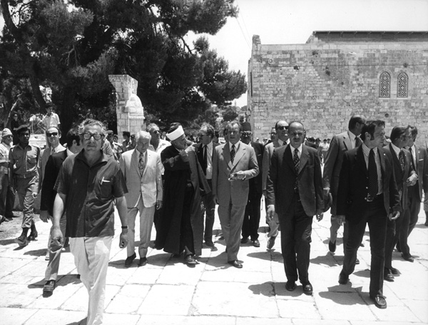 Willy Brandt besucht Jerusalem (7.- 11. Juni 1973)