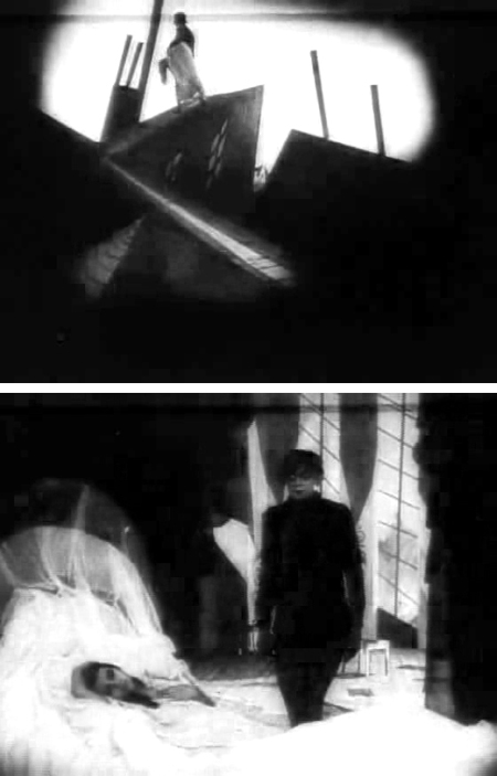 Scenes from <i>The Cabinet of Dr. Caligari</i> by Robert Wiene (1920)