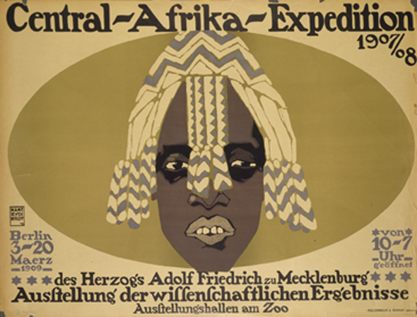 Plakat der Central-Afrika-Expedition (1909)