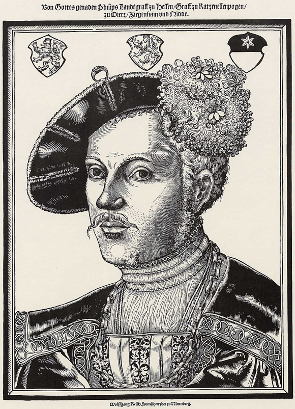 "Landgrave Philip of Hesse, called ""the Magnanimous"" (1535)"