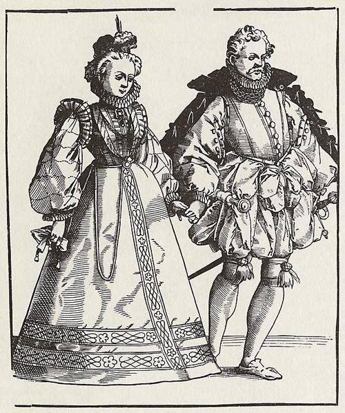 Th Century Fashion Men And Women