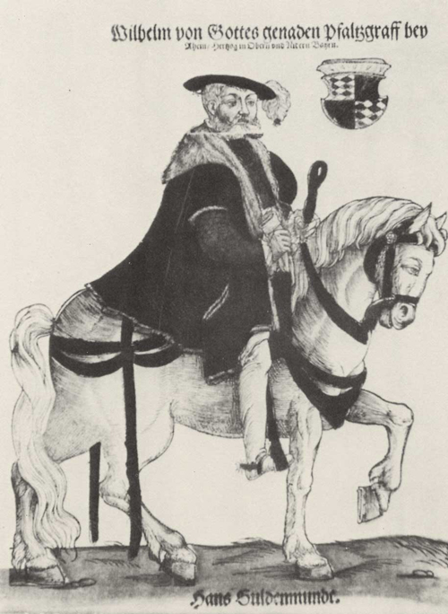 Duke William IV of Bavaria (1st Half of the 16th Century)