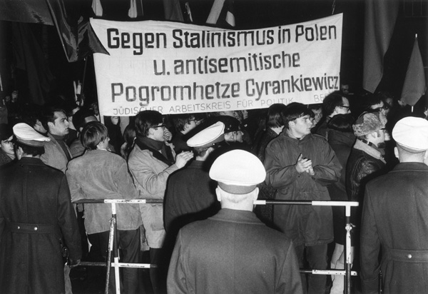 Demonstration against Stalinism and Anti-Semitism in Poland (March 13, 1968)