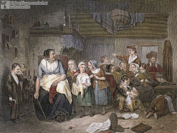 Instruction at the Village School (c. 1840)