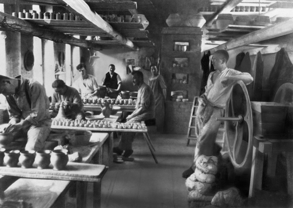 Max Krehan's Ceramics Workshop at the Weimar Bauhaus (1924)