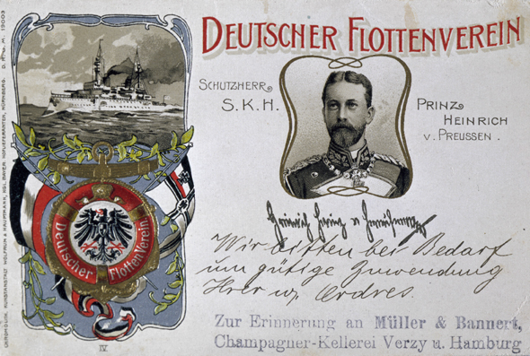 German Navy League Postcard (1902)