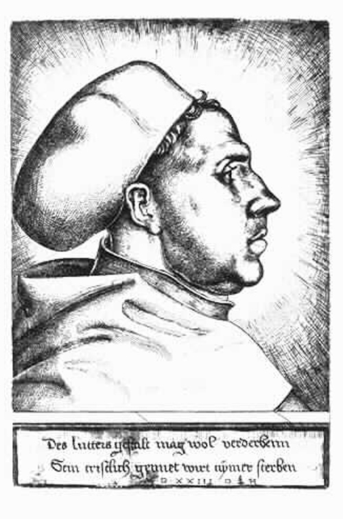 Martin Luther as Professor of Theology (1523)