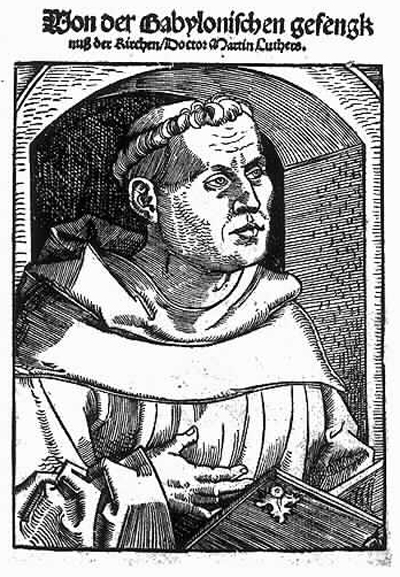 Martin Luther as an Augustinian Friar (1520)