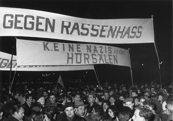 Against Racial Hatred / No Nazis in the Lecture Halls (January 1960)