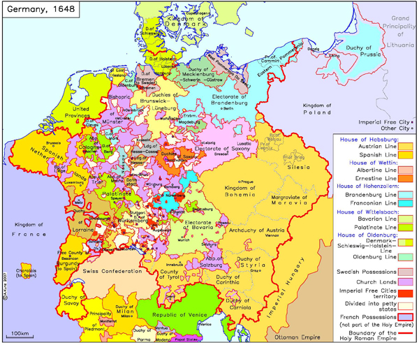 GHDI List Of Maps - Map germany thirty years war