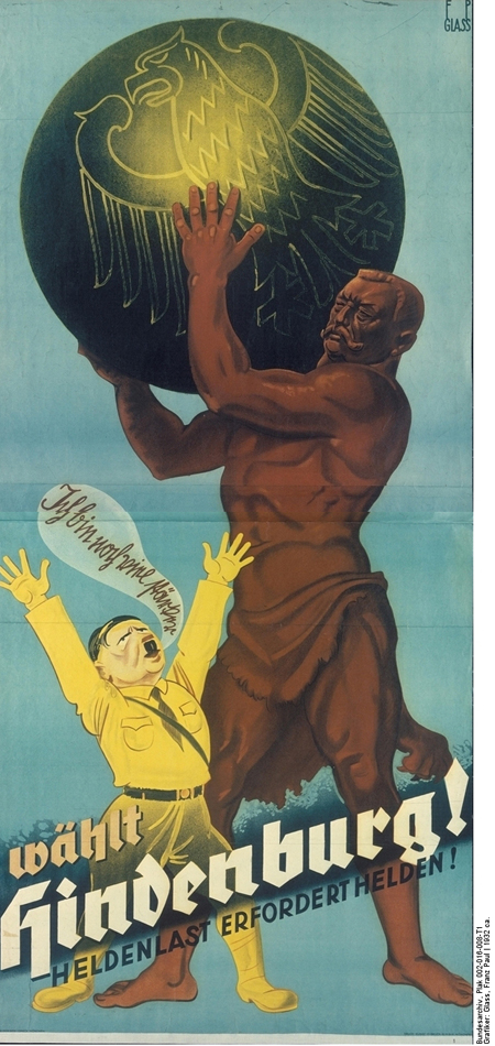 Hindenburg Election Poster (1932)