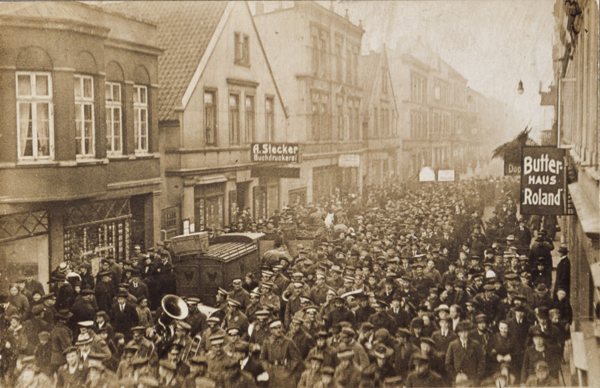 Sailors' Uprising in Wilhelmshaven (November 6, 1918)