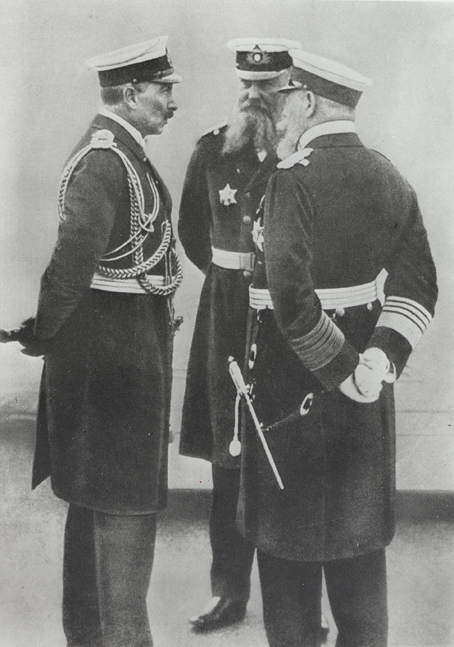Kaiser Wilhelm and his Admirals (1910)