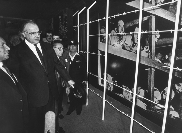 Helmut Kohl at Yad Vashem (1984)