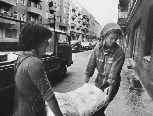 "Young People in a ""Problem Area"" of West Berlin's Kreuzberg Neighborhood (1980)"