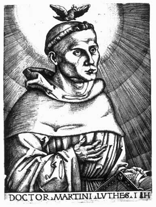Martin Luther as Holy Man (after 1519)