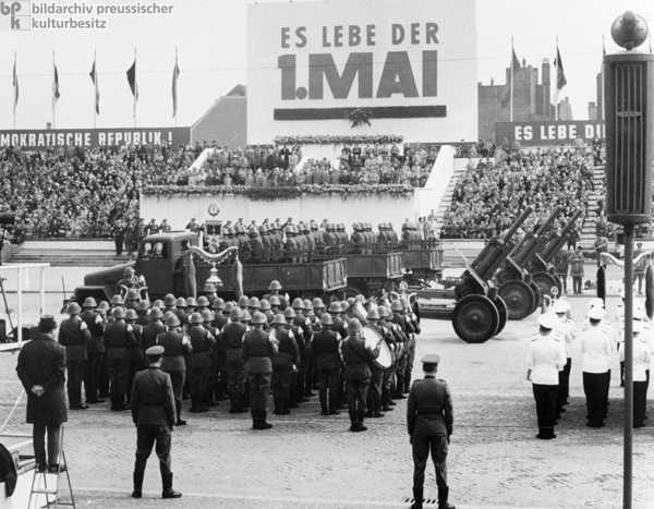 May Day Parade in East Berlin (May 1, 1963)