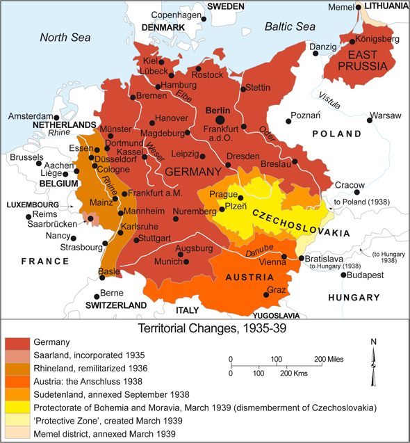 Map Of Germany 1938.Ghdi Map