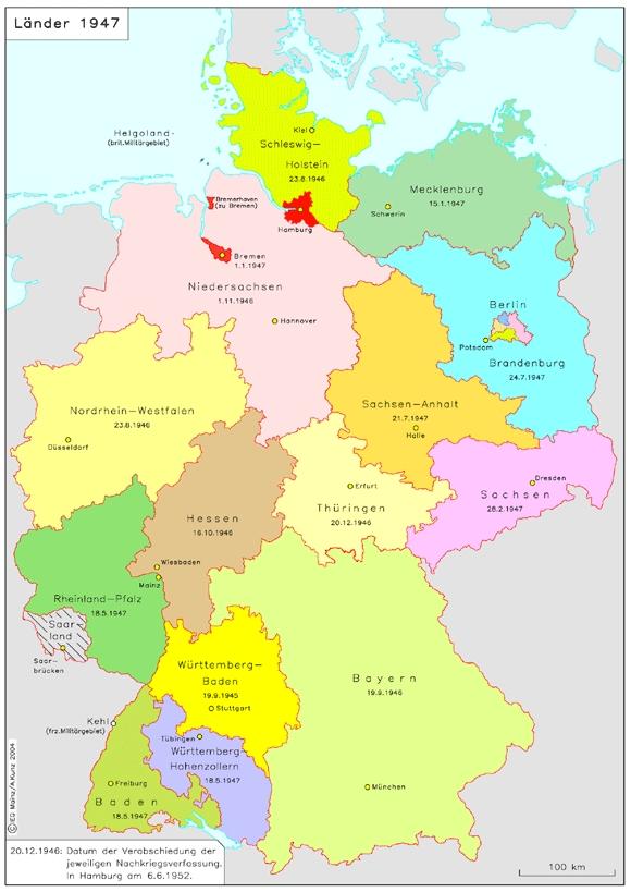 deutschland 1945 karte GHDI   List of Maps