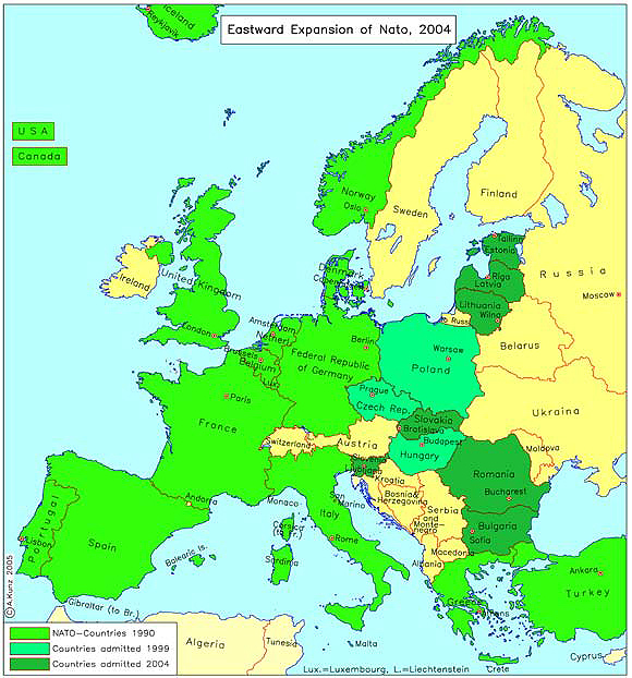 NATO's Eastward Expansion (2004)