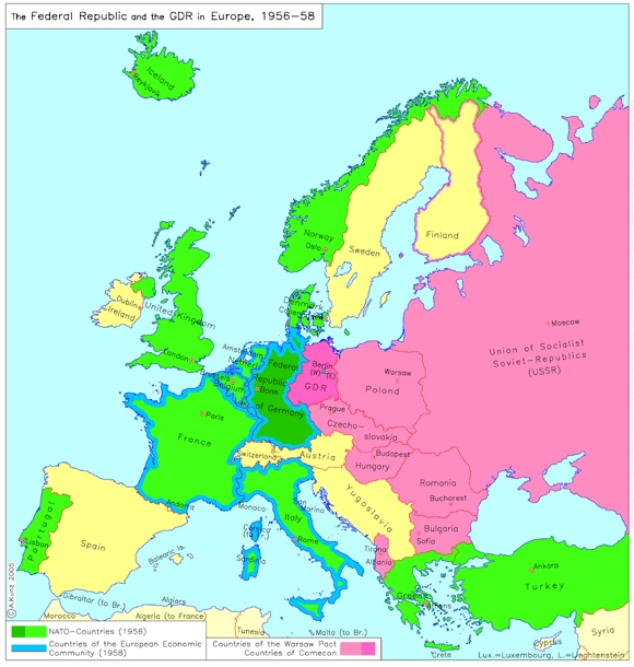 The Federal Republic and the German Democratic Republic in Europe (1956-58)