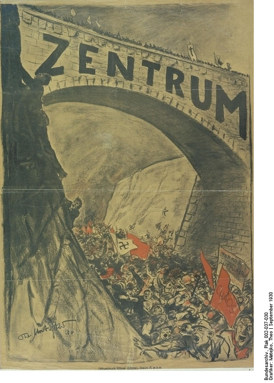 Center Party [<I>Zentrum</i>] Election Poster (1930)