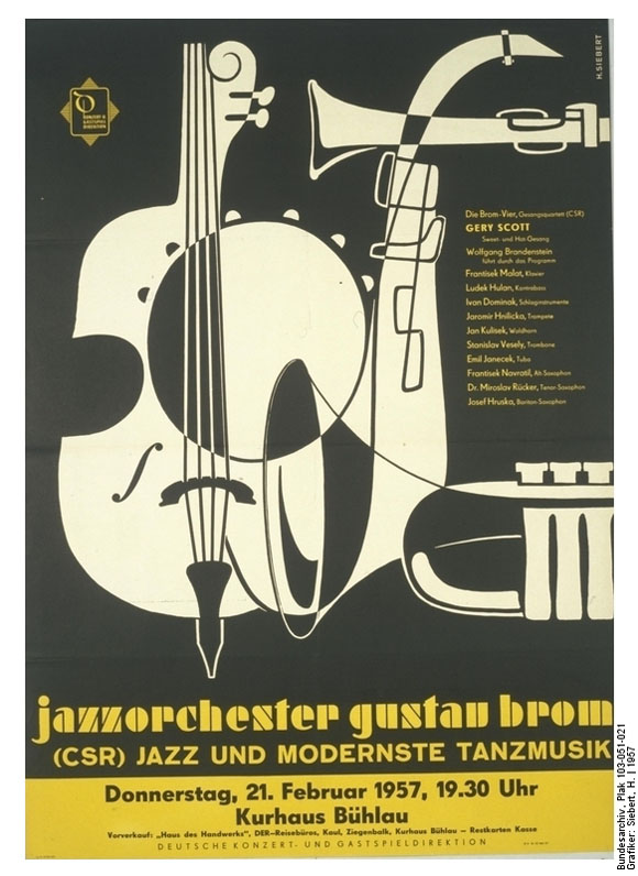 Poster for a Jazz Concert (1957)