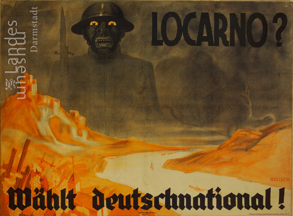 Election Poster for the German National People's Party (DNVP) (May 1928)