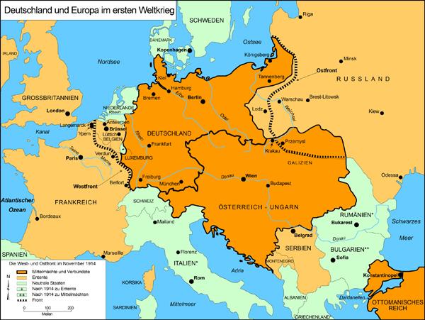 deutschland karte 1914 GHDI   Map