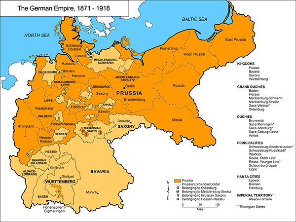 Image Gallery German Empire 1871