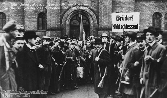 The November Revolution in Berlin (November 9-11, 1918)