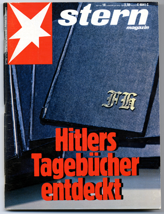 <i>Stern</i> Presents Hitler's Diaries (April 22, 1983)