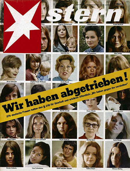 """We Had Abortions"" – Protest against Paragraph 218 (1971)"