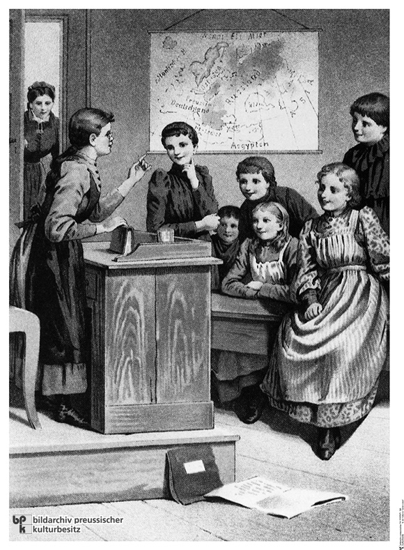 A School for the Higher Education of Daughters (c. 1860)