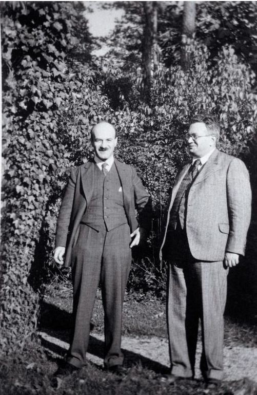 Hans Kohn and Robert Weltsch in Berlin (September 1926)