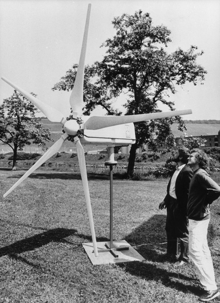 Small-Scale Wind Units by MBB (1986)
