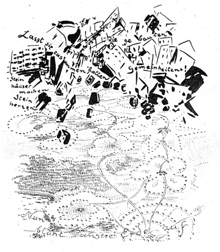 Bruno Taut, <i>The Dissolution of Cities </i> (1920)