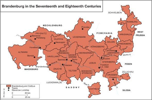 Brandenburg in the Seventeeth and Eighteenth Centuries