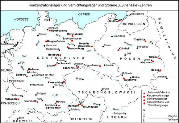 kz in deutschland karte GHDI   Map