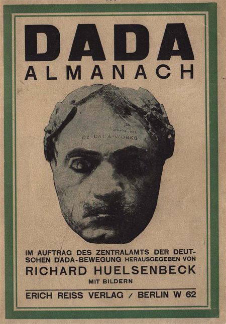 Cover of the <I>Dada Almanach</i> (1920)