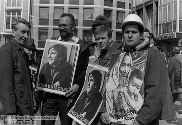 A Demonstration following the Attempted Assassination of Rudi Dutschke (April 1968)