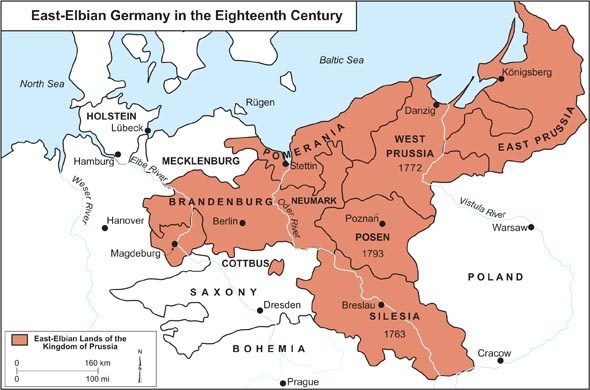 East-Elbian Germany in the Eighteenth Century