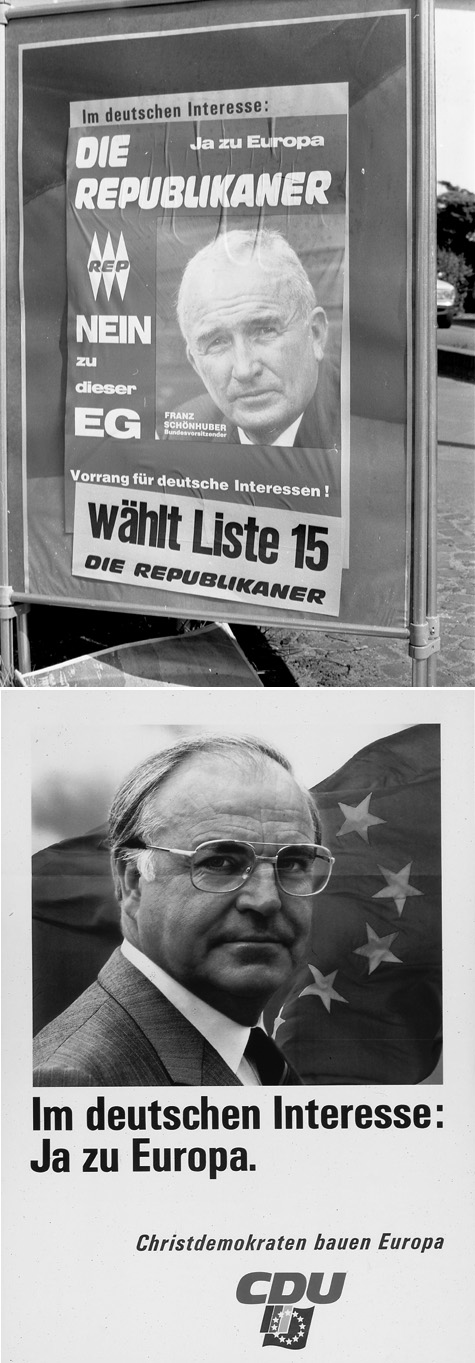 Campaign Posters for the European Elections (1989)